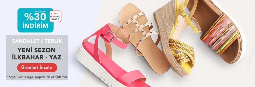 Sandalet ve Terlik