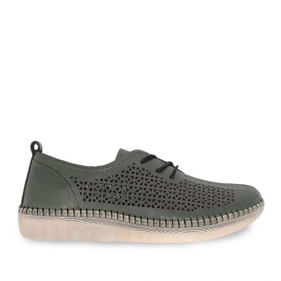 Çizgi 4034 Deri Kadın Ayakkabı