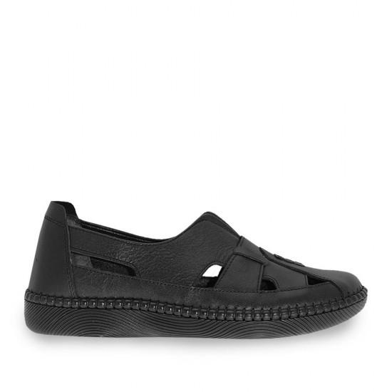 Çizgi 4139 Deri Kadın Ayakkabı