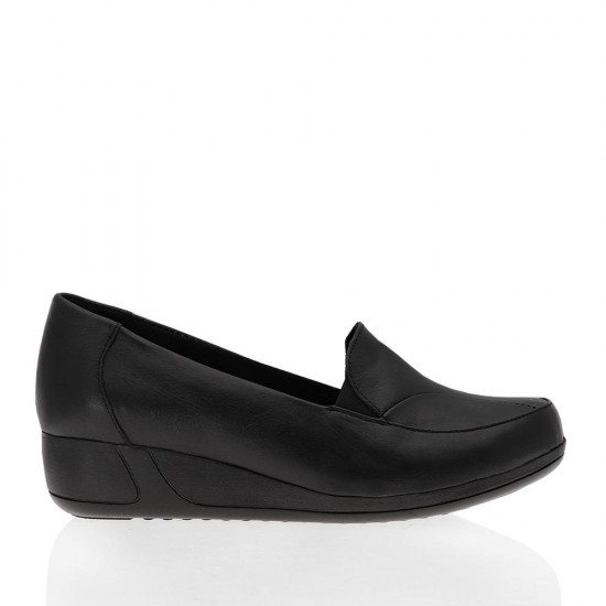 Çizgi 5453 Deri Comfort Kadın Ayakkabı