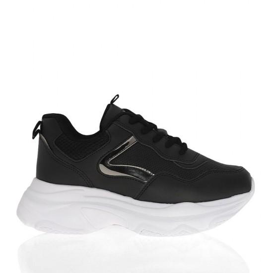 Çizgi 7053 Kalın Tabanlı Kadın Spor Ayakkabı