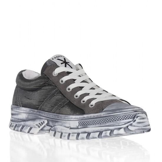 Çizgi 7057 Paraşüt Kumaş Kadın Spor Ayakkabı