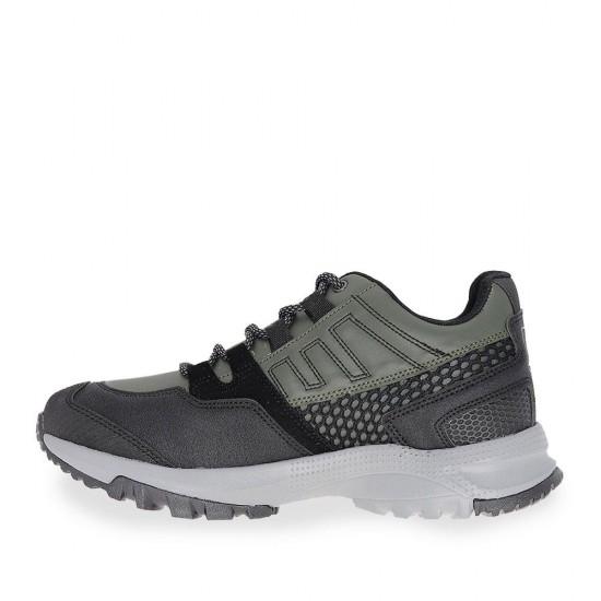 Çizgi Trap Bağcıklı Erkek Spor Ayakkabı