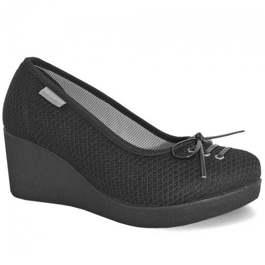 mammamia D19YA-125 Dolgu Topuk Keten Kadın Ayakkabı