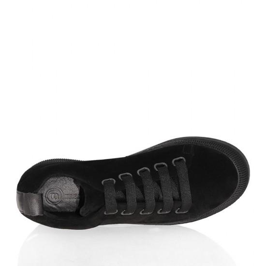 mammamia D20KA-3170 Süet Deri Kadın Ayakkabı