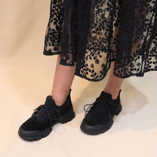 mammamia D20KA-3175 Süet Deri Kadın Ayakkabı