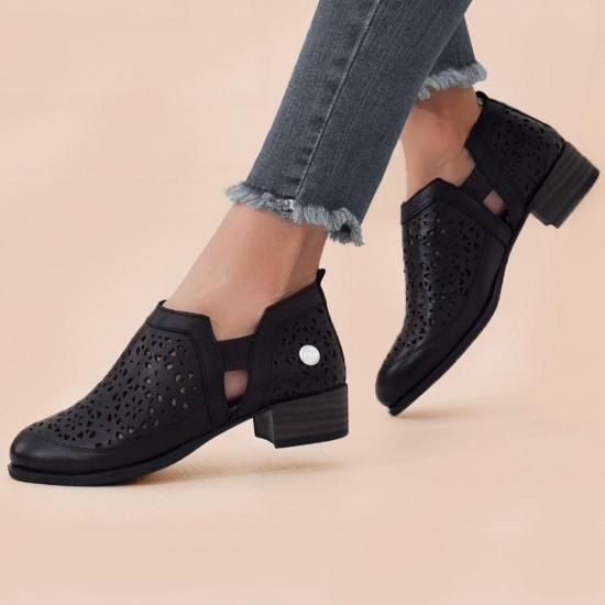 Mammamia D21YA-455 Deri Kadın Ayakkabı