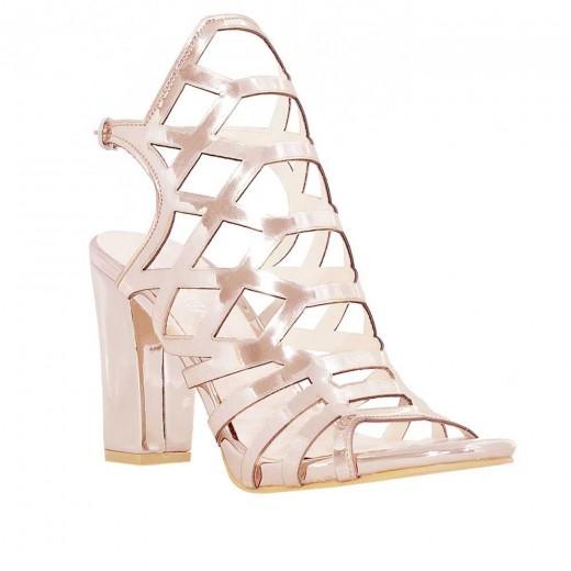 Steymi 4552 Topuklu Kadın Sandalet SOMON
