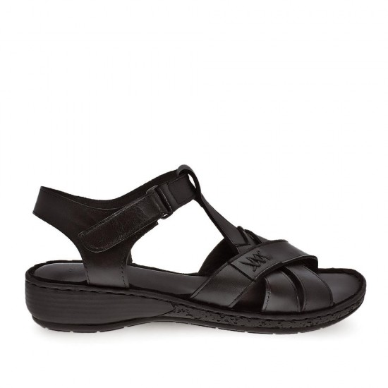 White Angel 155 Hakiki Deri Kadın Sandalet